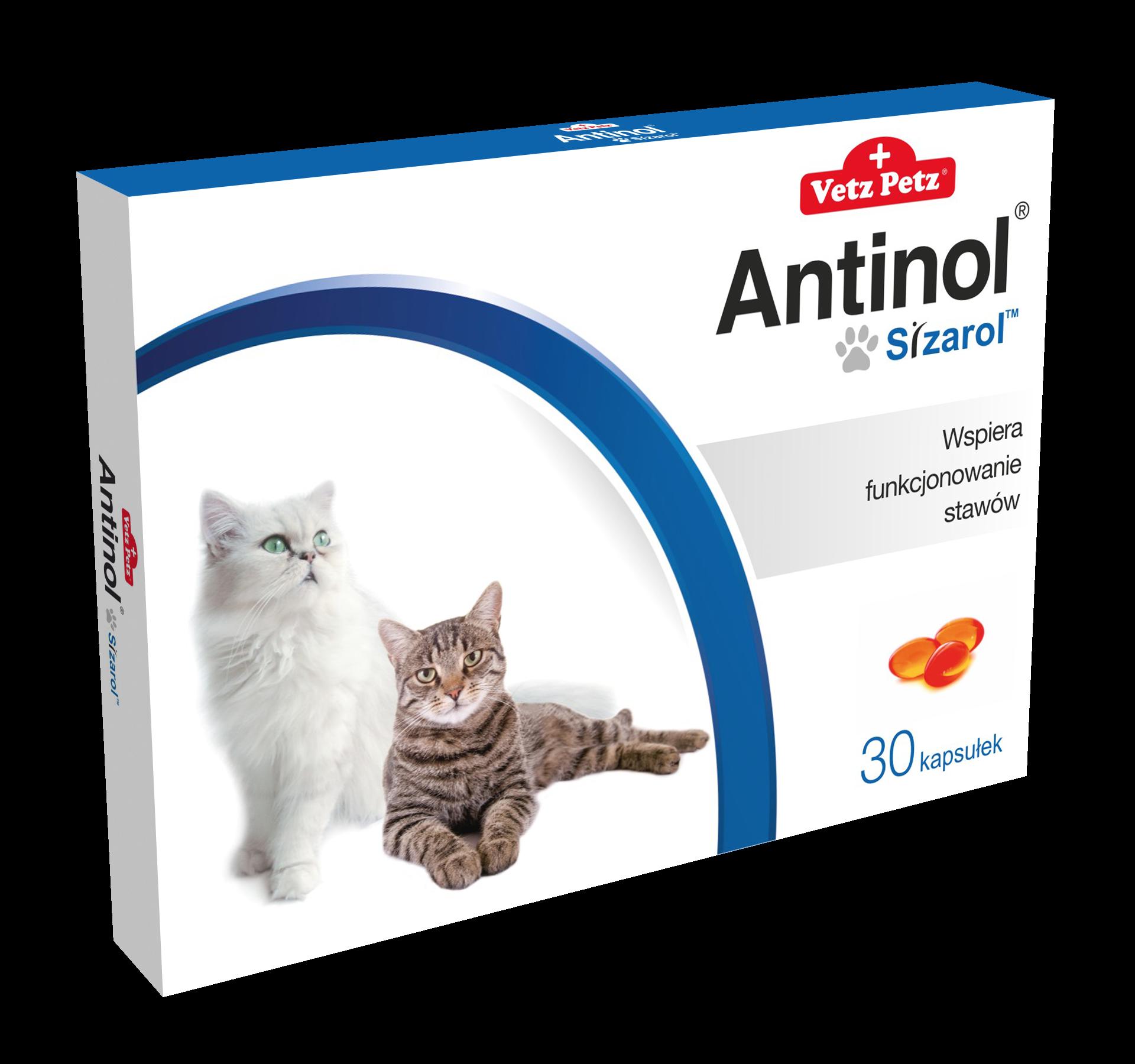 Antinol® Sizarol kot 30 kapsułek