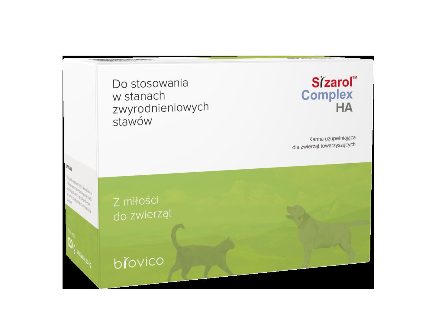 Sizarol™ Complex HA 30 tabletek zwyrodnienia stawów
