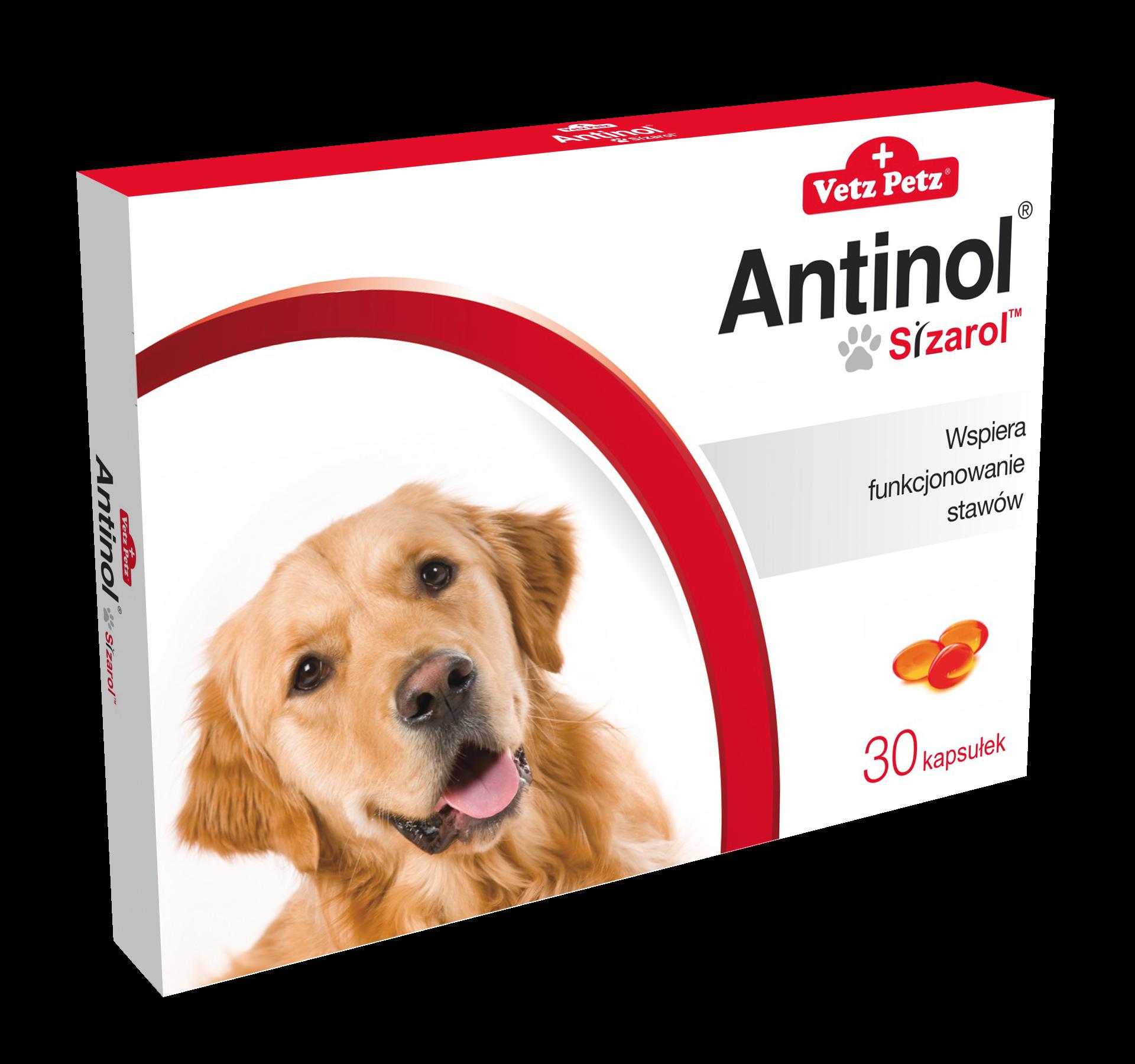 Antinol® Sizarol™ Pies 30 kapsułek