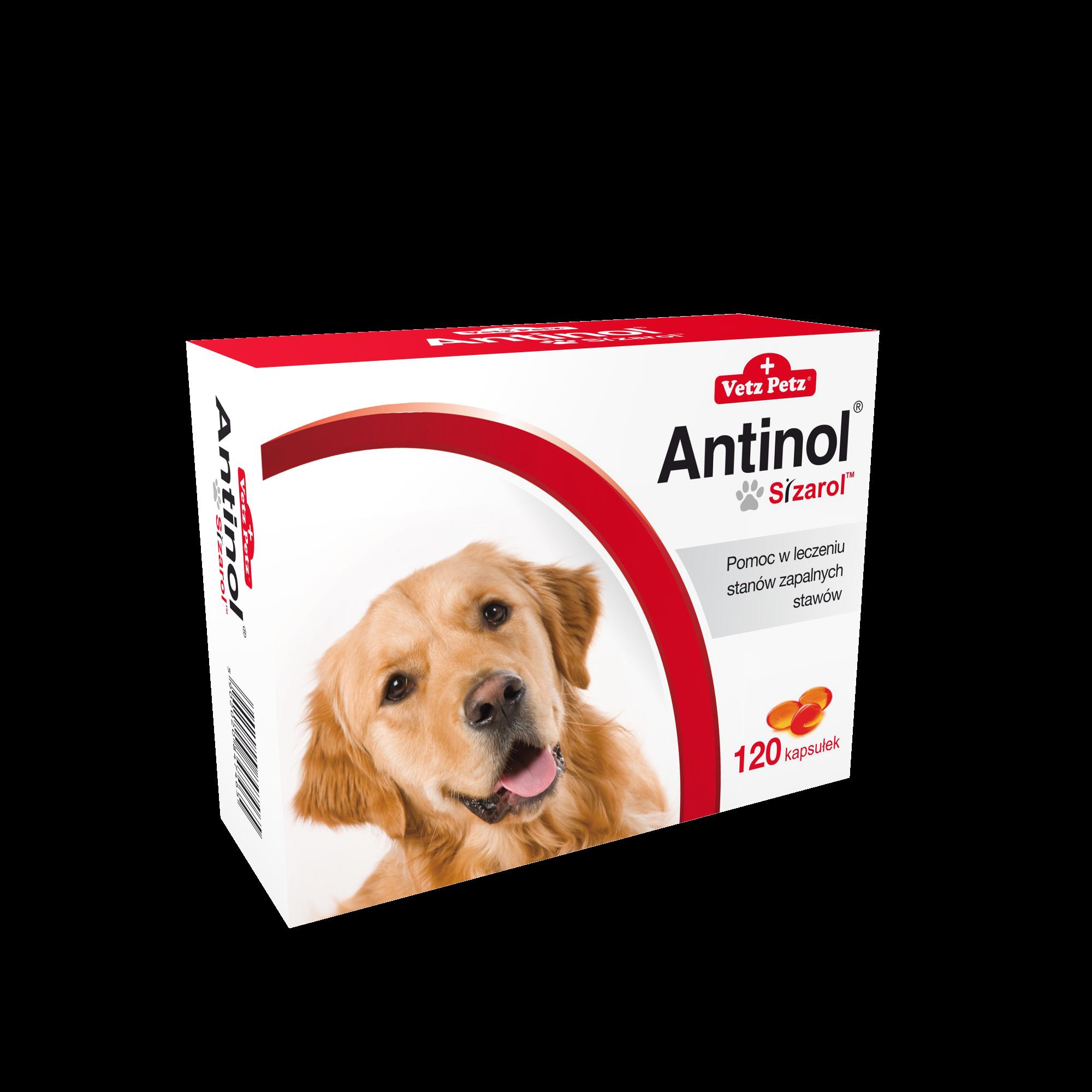 Antinol® Sizarol Pies  120 kaps.
